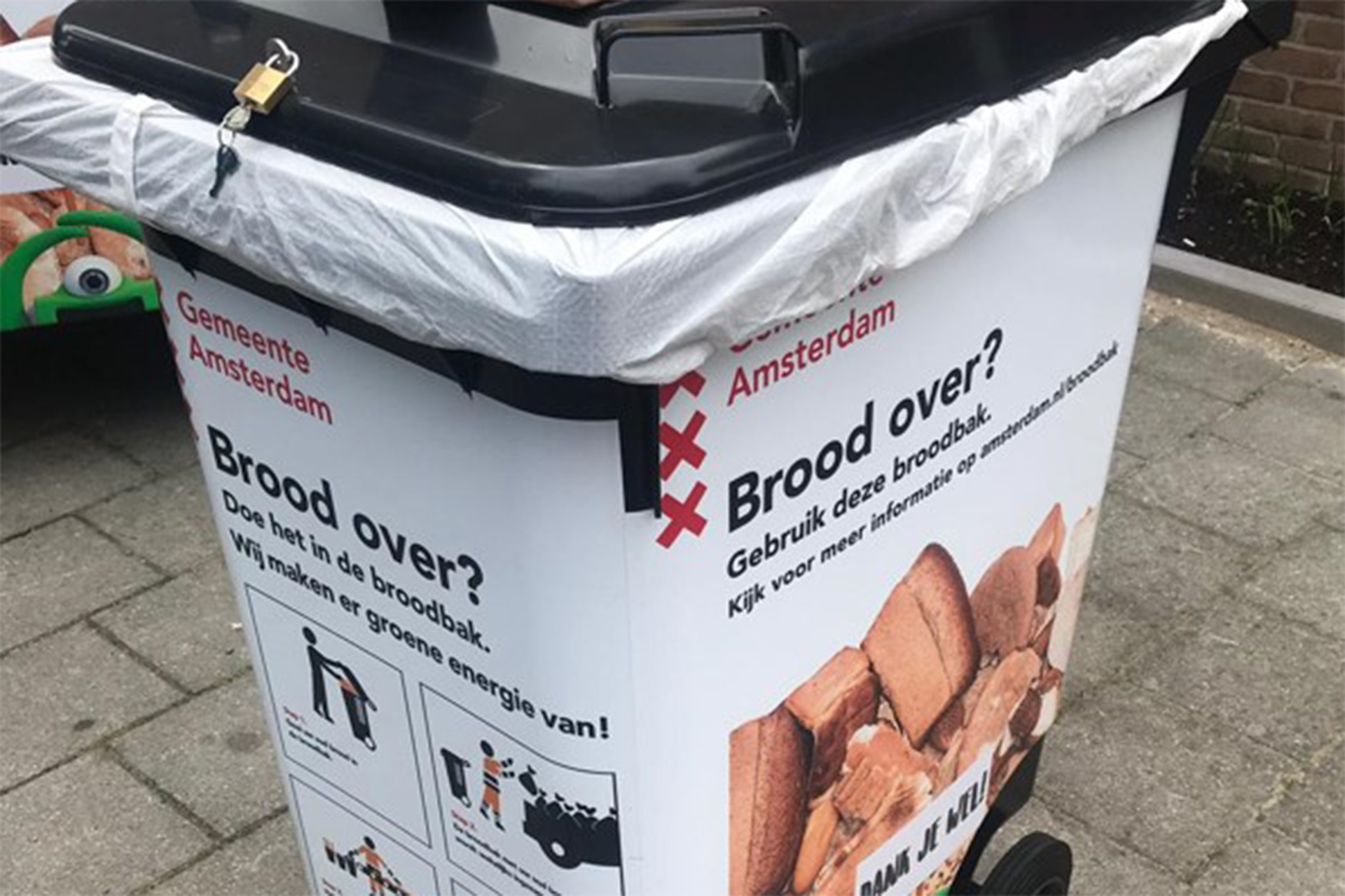 Duurzame broodcontainers in Amsterdam