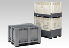 large volume bins and pallet boxes