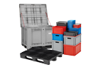 bins, pallets and palletboxes